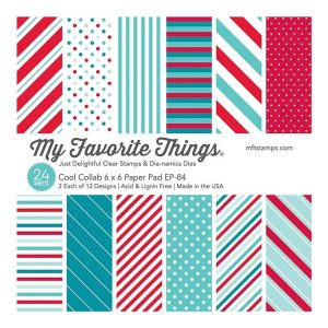 """My Favorite Things Cool Collab Paper Pad - 6"""" x 6"""""""