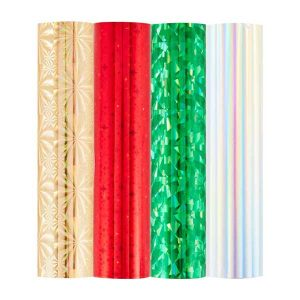 Spellbinders Glimmer Foil Variety Pack 4/Pkg - Holiday class=
