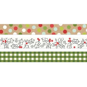 Simple Stories Washi Tape - Make It Merry class=