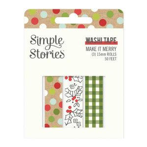 Simple Stories Washi Tape - Make It Merry